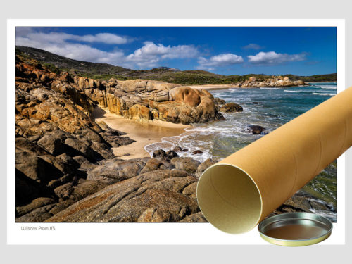 Classic-Gallery-Landscape-WILSONS-PROM-3-postal-tube-Photography-by-Michael-Collins