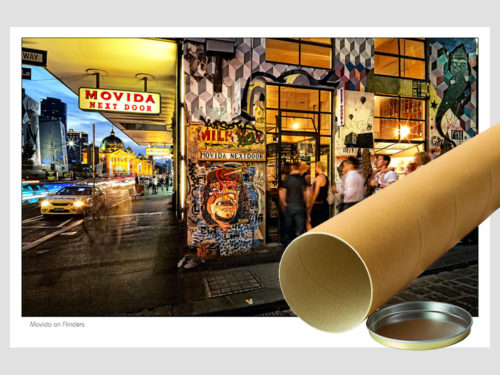 Modern-Gallery-Melbourne-MOVIDA-ON-FLINDERS-Postal-Tube-Photography-by-Michael-Collins-for-Visual-Resource